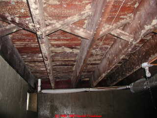 Before and After Mold Removal in Cincinatti, OH